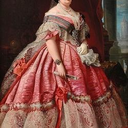 Пазл онлайн: Королева Изабелла II