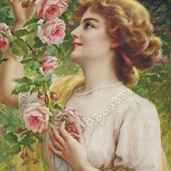 Пазл онлайн: Плетистая роза