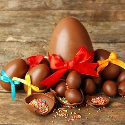 Пазл онлайн: Шоколадные