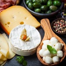Пазл онлайн: Сырная компания
