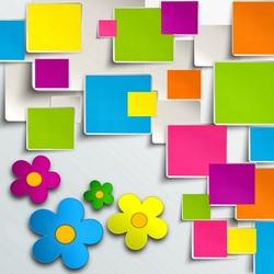 Пазл онлайн: Цветные плитки