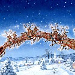 Пазл онлайн: С рождеством