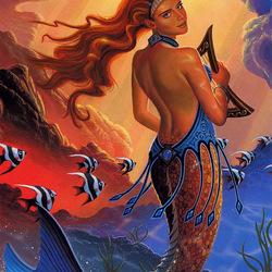 Пазл онлайн: Подводная музыка