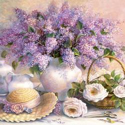 Пазл онлайн: Цветочный день