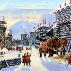 Пазл онлайн: В городе Русского Рода