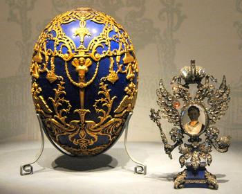 """Пасхальные яйца.Карл Фаберже "" - собрать пазл онлайн."