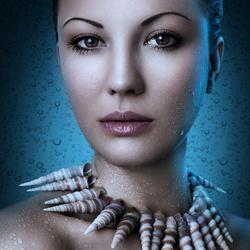 Пазл онлайн: Ожерелье из раковин