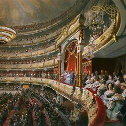 Пазл онлайн: Выступление на сцене Большого театра