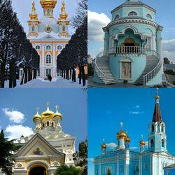 Пазл онлайн: Храмы России
