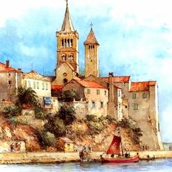 Пазл онлайн: Остров Раб, Хорватия