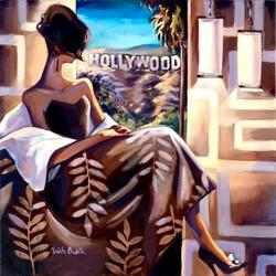 Пазл онлайн: В Голливуде