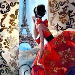 Пазл онлайн: В Париже