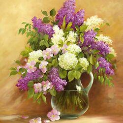 Пазл онлайн: Smell Of Lilac/Запах сирени