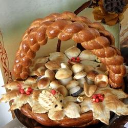 Пазл онлайн: Хлебная корзина