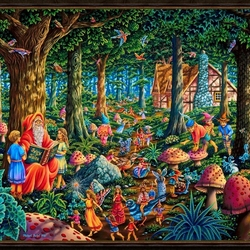 Пазл онлайн: Сказки старого эльфа