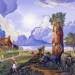 Пазл онлайн: Ведическая Русь.Прилёт Перуна на Землю