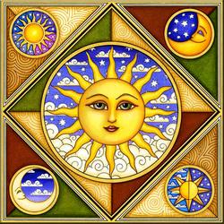 Пазл онлайн: Солнышко
