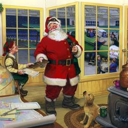 Пазл онлайн: Праздничный визит
