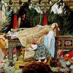 Пазл онлайн: Спящая царевна