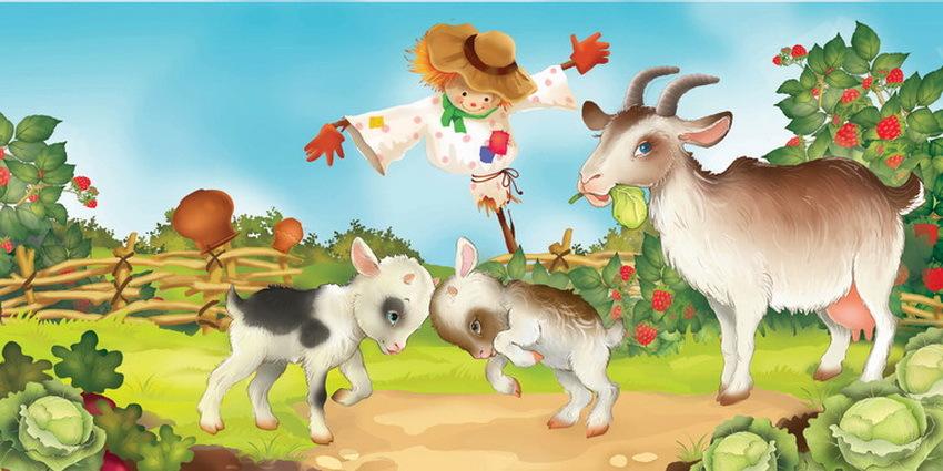 коза с козлятами веретенникова картинки собора основывается готическом