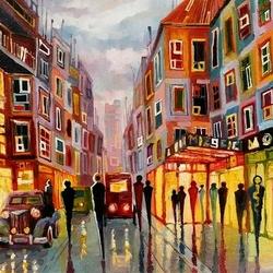 Пазл онлайн: Краски вечернего города