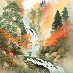 Пазл онлайн: Осенняя заготовка