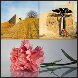 Пазл онлайн: Мемориал «Безымянная высота»