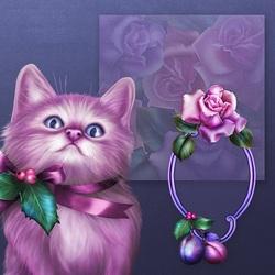 Пазл онлайн: Котёнок