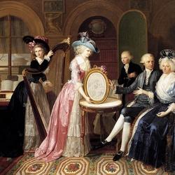 Пазл онлайн: Портрет семьи Виллер