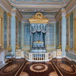 Пазл онлайн: Парадная опочивальня императрицы Марии Федоровны в Гатчинском дворце