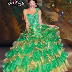 Пазл онлайн: Дизайнерское платье