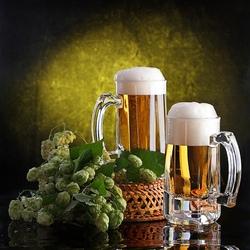 Пазл онлайн: Хмель и пиво
