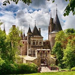 Пазл онлайн: Замок де ля Рошпот