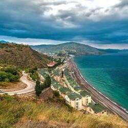 Пазл онлайн: Панорама Крыма