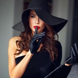 Пазл онлайн: Элегантная леди