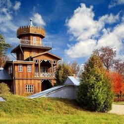 Пазл онлайн: Музей-усадьба И.Е. Репина «Здравнёво»