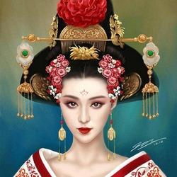 Пазл онлайн: Дева Азии