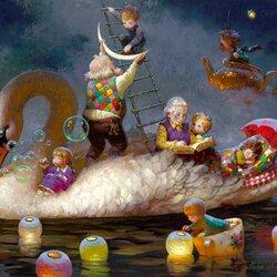 Пазл онлайн: Бабушкины сказки
