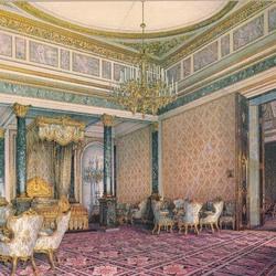 Пазл онлайн: Спальня в Большом Кремлевском дворце