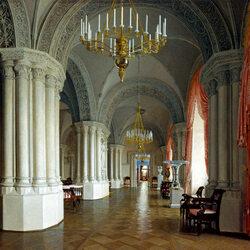 Пазл онлайн: Готический зал в Зимнем дворце