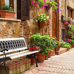 Пазл онлайн: Улица в Италии