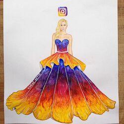 Пазл онлайн: Королева Instagram