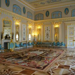 Пазл онлайн: Екатерининский дворец в Царском селе