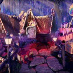 Пазл онлайн: Пряничный дом