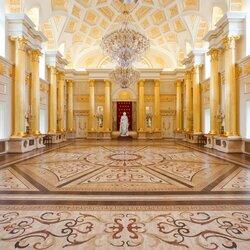 Пазл онлайн: Дворец Царицыно