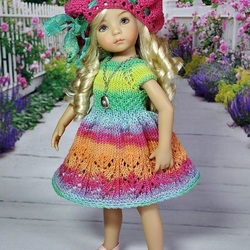 Пазл онлайн: Куколка