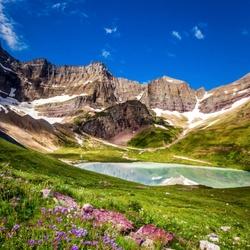 Пазл онлайн: Озеро Кракер