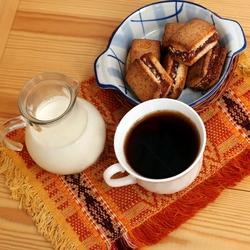 Пазл онлайн: Утренний кофе с молоком