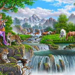 Пазл онлайн: Райское место