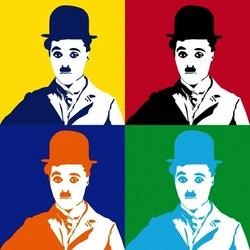Пазл онлайн: Чарли Чаплин